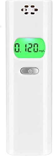 TAORAYO アルコール検知器 アルコールセンサー 半導体式センサー 呼気アルコールチェッカー 飲酒検知器 ブレスチェッカー アルコールテスター デジタル検知器 LCDモニター ライト付き見易い 0.000~0.995 mg/L測定範囲 高感度高精度 簡単計測 コンパクト 軽量 携帯 酔い程度テスト アラーム機能 飲酒運転防止 飲み過ぎ防止 忘年会 新年会 飲み会 パーティー 運送業 日本語電子パン説明書 ホワイト