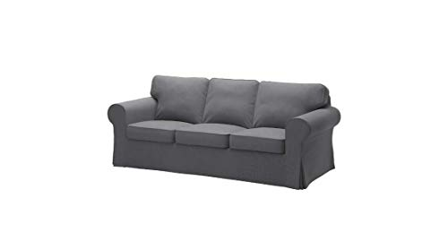 IKEA Cover for Ektorp Sofa, Nordvalla Dark Gray