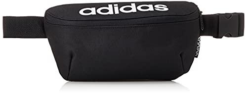 marsupio uomo originale adidas GE1113 Daily WAISTBAG Marsupio Sportivo Unisex - Adulto Black/Black/White NS
