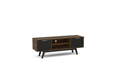 Polifurniture 401706680002 Shard - Soporte para televisor (53 Pulgadas), Color marrón Oscuro