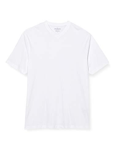 Daniel Hechter Herren T-Shirt doublepack -v- 10184 472, Gr. XXX-Large, Weiß (white 1)