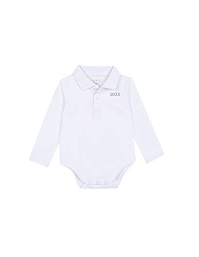 Gocco Polo Body Undershirt, Blanco Optico, 43991 Unisex bebé