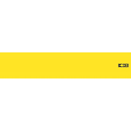 Bohning 17,8 cm Feste Folie, große Größe 17,8 cm neongelbe große Pfeil-Wickel, 12 Stück
