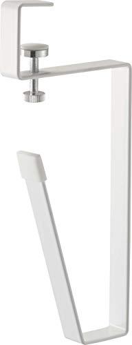 山崎実業(Yamazaki) 洗面戸棚下タンブラーホルダー ホワイト 約W1.8XD8XH19cm タワー 浮かせて収納 コップ スタンド 5002
