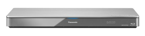 Panasonic DMP-BDT465EG9 3D Blu-ray Player (4K Upscaling, WLAN, DLNA, Miracast, VoD, 2x HDMI, SD-Kartenslot, USB, NAS) silber