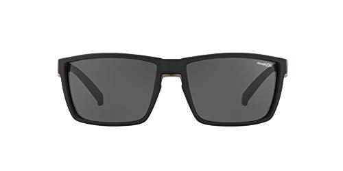 Arnette 0AN4253 Gafas de sol, Black Rubber, 61 para Hombre