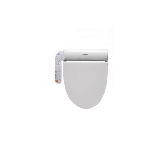 TOTO SW502#01 B100 Washlet for Elongated Toilet Bowl, Cotton White