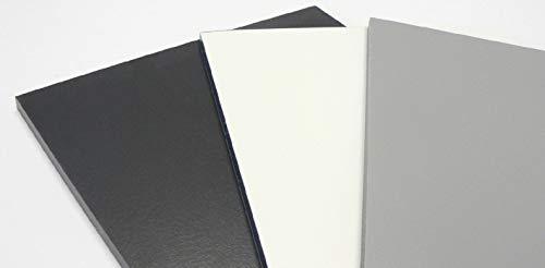 HPL Platte 6mm Schichtstoffplatten - Zuschnitt möglich - Uniplan Anthrazit