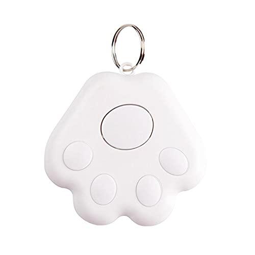 CHUN Localizador de Mascotas Mini Gato/Perro Localizador de rastreo GPS Inteligente Impermeable Bluetooth Rastreador Anti-perdida para niños Bolsa Cartera Llaves Smartphone