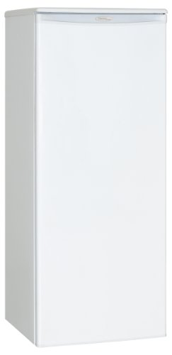 Danby DUFM085A2WDD1 Upright Freezer, 8.5 Cubic Feet, White