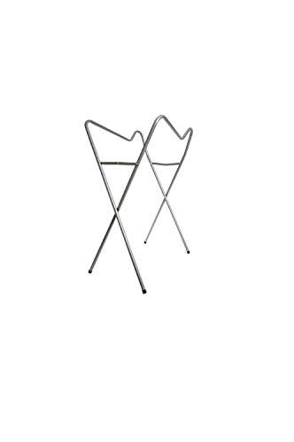 Tega Baby® Ständer Gestell für die Baby Badewanne 86 cm | Passender, praktischer und Universalständer | ohne Babywanne, Ständer:Silber