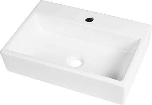 TrendLine Waschtisch Liora weiß Handwaschbecken Waschbecken