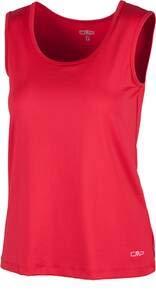 CMP fonctionnel Sport Haut Basic T-shirt rose stretch – Protection UV 3t55236, rose bonbon, 46