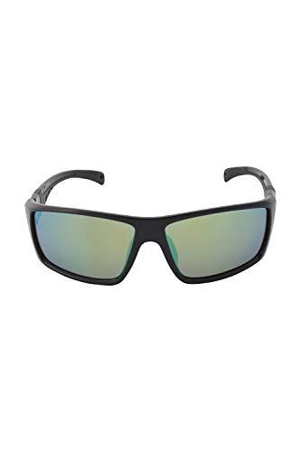 Mountain Warehouse Mykonos polarisierte Sonnenbrille - Sonnenbrille mit UV400-Gläsern, Filter-Kategorie 3, Damen/Herren, leicht - für Strand, Picknicks, Urlaub Schwarz Einheitsgröße