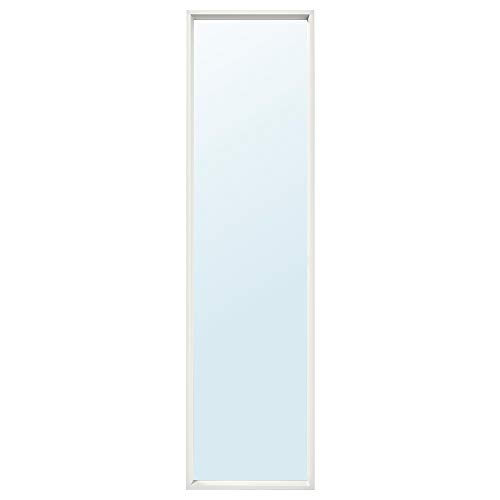 Ikea nissedal Espejo en color blanco; (40x 150cm)