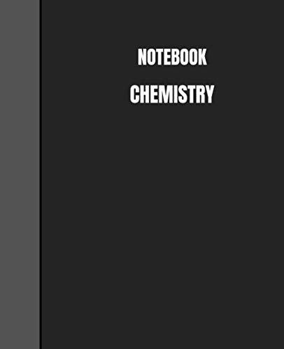 Notebook Chemistry: Graph Paper Composition Notebook, Quad Ruled 5 squares per inch, 100 pages : 9.25 in. X 7.5 in. Quad Ruled 5x5 Composition Notebook, Glossy Cover. (Notebooks For College Students)