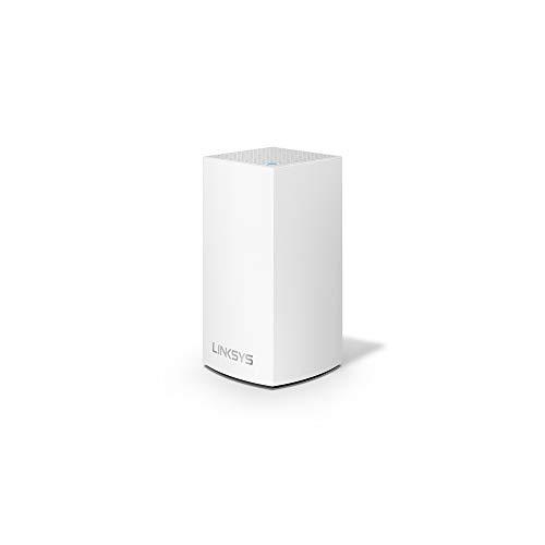 Linksys Velop Intelligent Mesh WiFi System, 1-Pack White (AC1300) (Renewed)