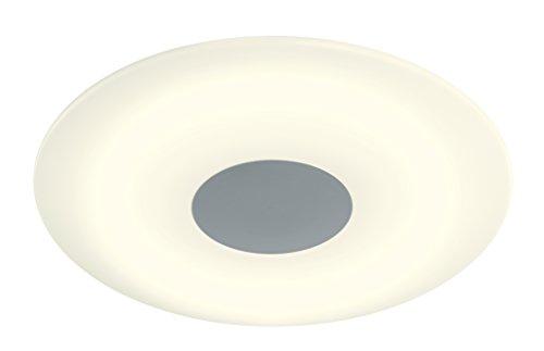 WOFI Deckenleuchte 1-flammig, Serie Sila, 1 x LED, 40 W, Höhe 9.5 cm, Durchmesser 45 cm, Kelvin 3000