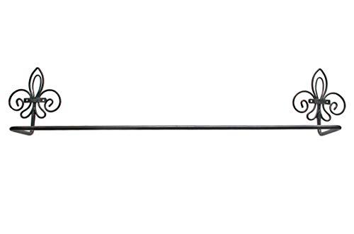 IB Laursen Handtuchhalter Handtuchstange Metall braun-schwarz Landhaus- Stil