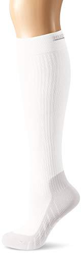 Hudson Damen Move Compression Stützstrümpfe, Weiß (White 0008), (Herstellergröße:35/38)