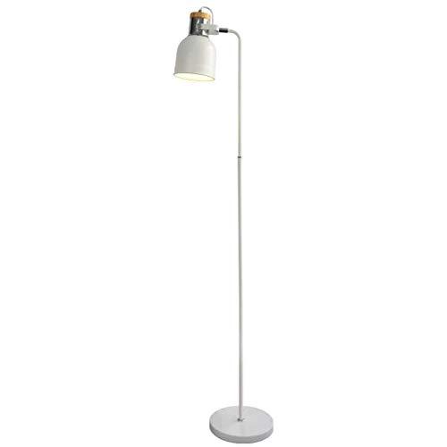 MOZUSA el Norte de Europa Led simple creativo nórdica moderna lámpara de pie, Rines de vida sofá de la luz del piso Estudio sobre el papel de las luces verticales Eye-Cuidado Vertical luz del piso fue