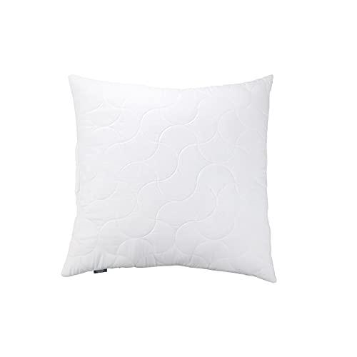 viewstar Kopfkissen 80x80 cm, 850g Mikrofaser Füllung Kissen Pillow, Weiche & Angenehme Schlafkissen Polster 80 x 80, Bett Kissen für Allergiker Atmungsaktiv Komfort Hinzufügbar mit Reißverschluss