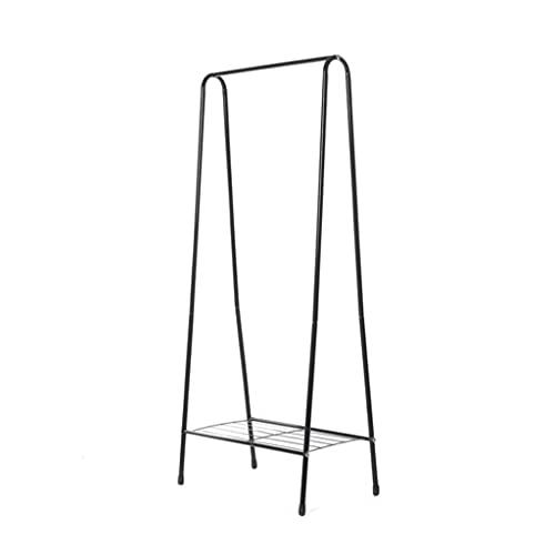 NHDY Multi función de la Capa de triángulo, Soporte de Percha de Tela de pie extraíble con Rodillo de Cuello de Copa de Cuello de cuelga Ropa de Metal con estantes para Dormitorio de Entrada 0726