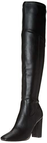 GUESS Women's Mireya Fashion Boot, Black, 7.5
