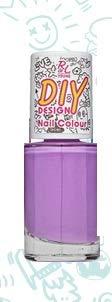 Rival de Loop Young DIY Design Nail Colour Nr. 07 la provence Inhalt: 9ml Nagellack matte in einer Trendfarbe für die Nägel.