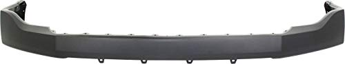 Front Bumper Cover Compatible with 2007-2014 Ford Expedition Upper Primed with Wheel Opening Moldings
