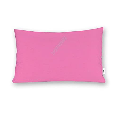 Dom576son Funda de almohada de cuerpo suave de 50,8 x 76,8 cm de largo, funda de cojín rosa caramelo para dormitorio, regalos de inauguración de la casa
