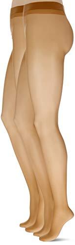 Hudson Damen Simply 20 2Pack Strumpfhose, 20 DEN, Beige (Make-Up 0019), 48 (Herstellergröße: 48/50) (2er Pack)