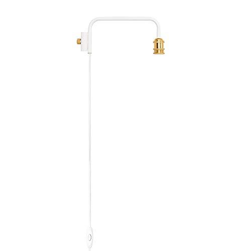 DRAW A LINE ランプアーム ホワイト サイズ:幅38x奥行5x高さ16cm DRAW A LINE(ドローアライン) D-BLS-WH