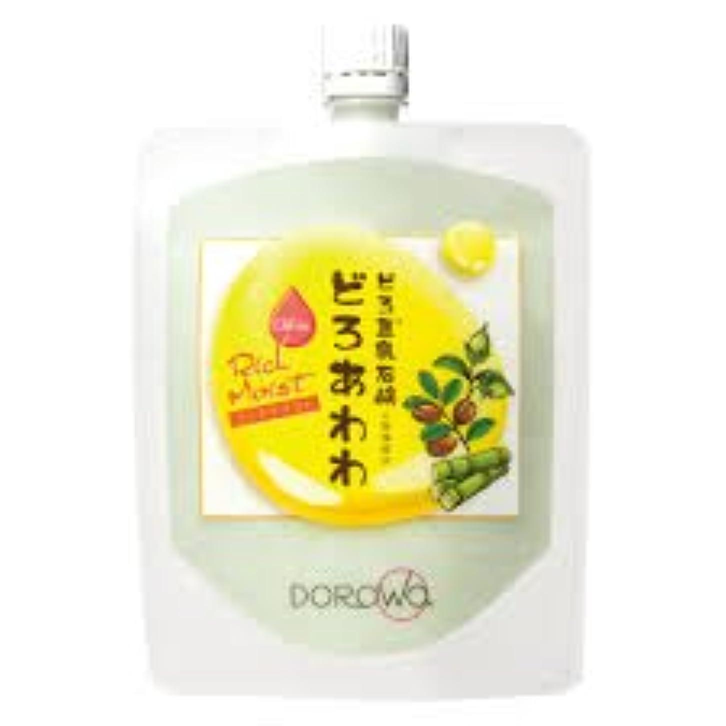 常に大騒ぎインテリア【DOROwa(ドロワ)】どろ豆乳石鹸 どろあわわ〈リッチモイスト〉