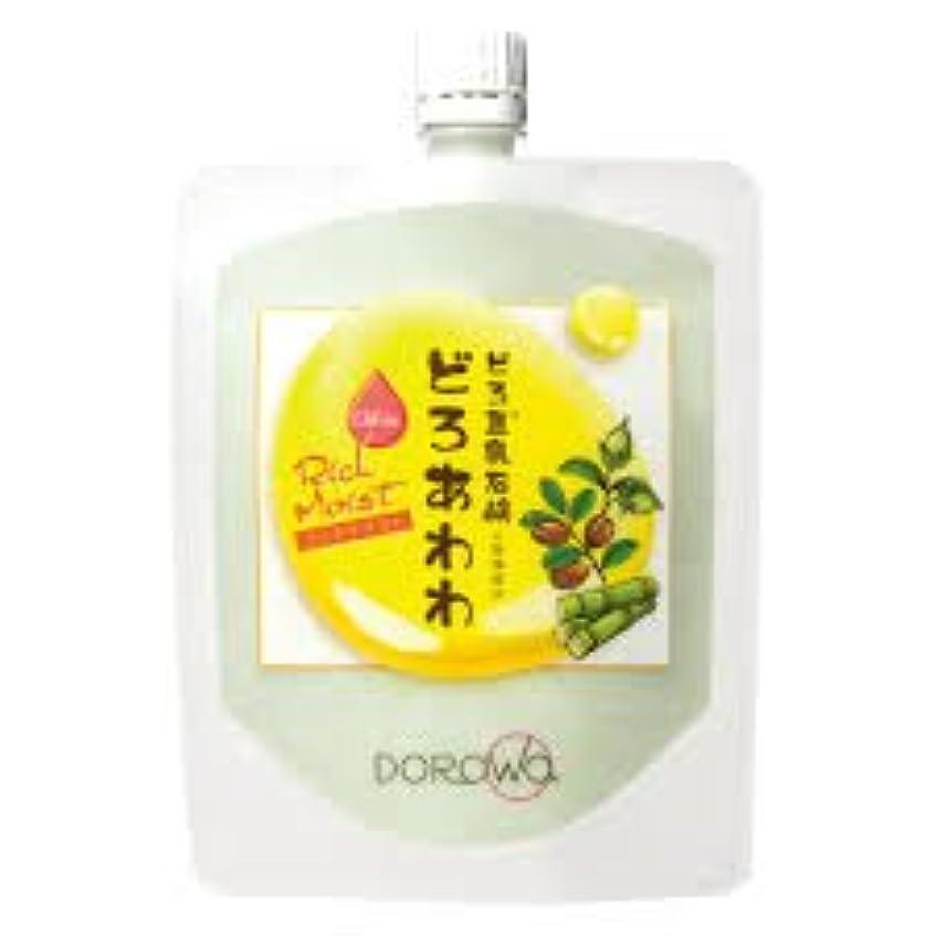 契約フルーツ実施する【DOROwa(ドロワ)】どろ豆乳石鹸 どろあわわ〈リッチモイスト〉