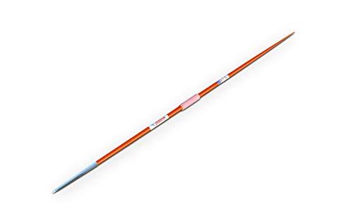 Polanik Wettkampfspeer Space Master 13 - aus Aluminium - Zigarrenspitze - 500 g - Orange - Speerwurf