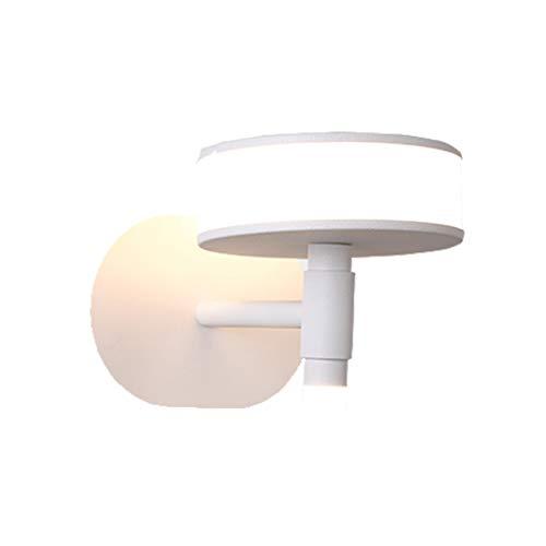 Wanddecoratie van meubels, modern, minimalistisch, modieus, creatief, persoonlijkheid, slaapkamer, bedlampje Nordic woonkamer TV muur LED van smeedijzer