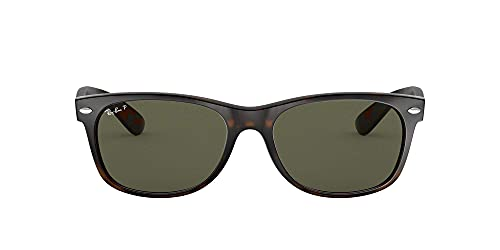 Ray-Ban New Wayfarer, Gafas de Sol Unisex adulto, Multicolor (Tortoise 902/58), 55 mm