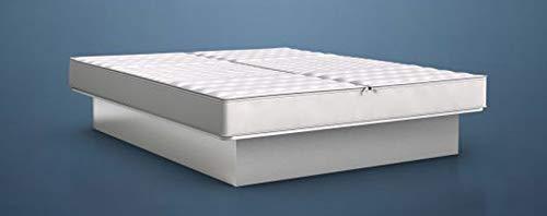 BluTimes Bezug BluStar Tencel®-Medicott für Wasserbetten - Bezugsdeckel in verschiedenen Größen, Größe:180x220