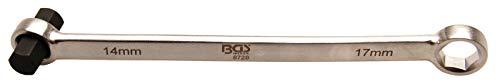 BGS 8728 | Öldienstschlüssel | SW 17 mm x H14