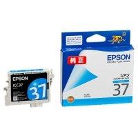 EPSON インクカートリッジ シアン ICC37 1個