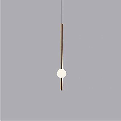 Lampadario post-moderno 10W, Nordic Creativo semplice plafoniera a LED, metallo placcato lampada corpo lampada a sospensione, per camera da letto comodino soggiorno cucina ristorante luce decorativa