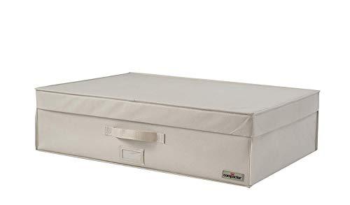 Compactor, Coffre de rangement sous-vide rigide, Beige, Dimensions: 72 x 49 x H.19 cm RAN7118