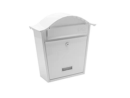 Sterling MB01 Briefkasten, klassisch, Weiß