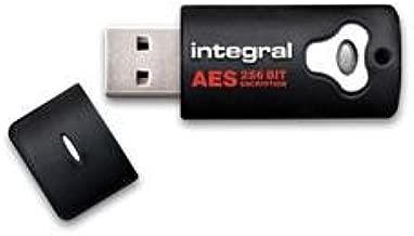 Integral - Crypto with AES encryption - USB flash drive - 8 GB - Hi-Speed USB