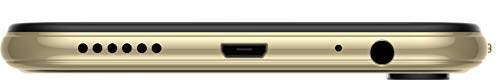 Tecno CAMON i4 (Triple Camera ON DOT Notch); 4GB+64GB Memory (Champagne Gold)