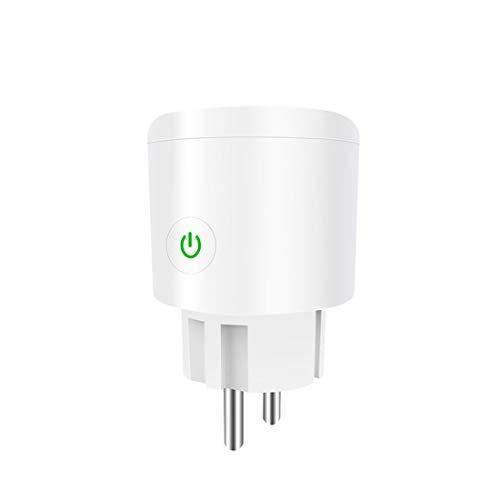 Enchufe inteligente Wlan Gosund Alexa con función de medición de consumo de energía, temporizador, compatible con Alexa Google Home, enchufe estándar alemán