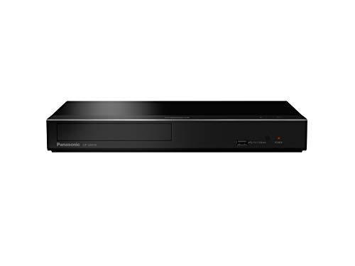 Panasonic DP-UB450EG-K Lettore Blu-ray Ultra HD 4K, HDR10+ HLG, Dolby Atmos, DTS:X, Dolby Vision, Upscaling 4K, Doppio HDMI, USB 2.0, LAN, Uscita Coassiale, Quick Start, Nero