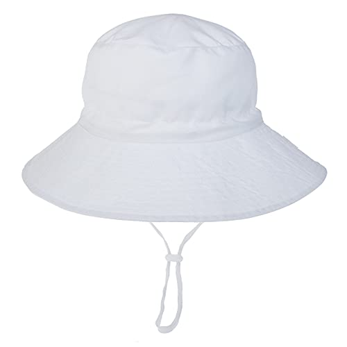 KFGF Cappello da sole per bambini, traspirante, per donne e uomini, adatto per la spiaggia, comodo protezione solare, taglia M (52-54), circonferenza della testa