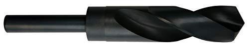 Presto 0861025.0-12 HSS - Taladro para herrero (1/2', vástago reducido, acabado templado al vapor P1, longitud de flauta de 79 mm, diámetro de 25.00 mm, longitud de 151 mm)